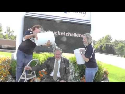 ALS Ice Bucket Challenge Bank of Franklin County