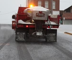 Treating Snowy Roads