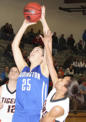 Lady Jays Fall in District Title Contest