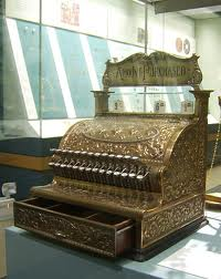 Cash Register Thing of the Past