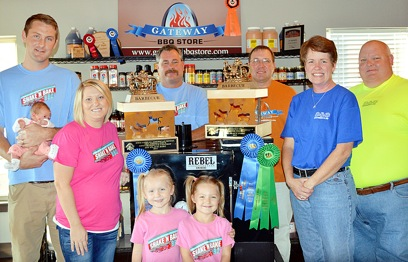 Win Barbecue Competition