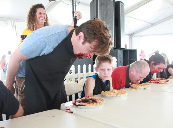 013 Pie eating Contest at fair 2014.jpg