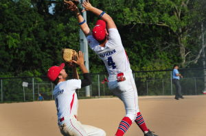 Post 218 Seniors Open District Tourney With Win