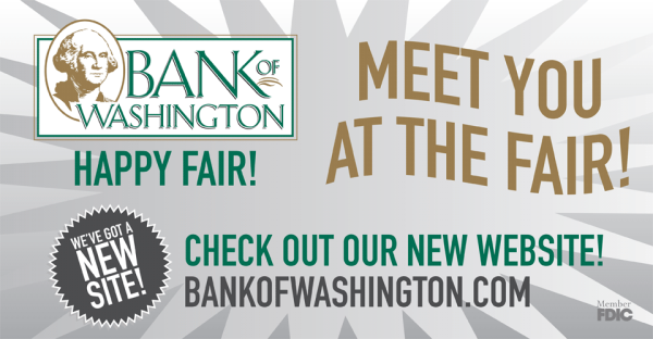 Bank of Washington Sponsorship 2014
