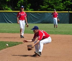 Becszlko Stops Ball