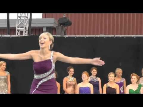 Queen Contestants Dance Opening Night 2014