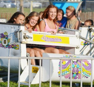 County Fair Kicks Off With Cool Weather