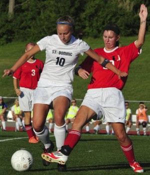 St. Dominic Beats Lady 'Cats, 6-0