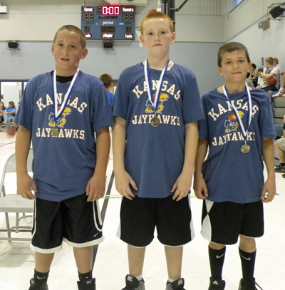 First-Place Team for Fifth-Grade Boys