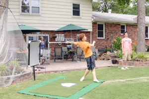 Timpes' Backyard Wiffle Ball Field