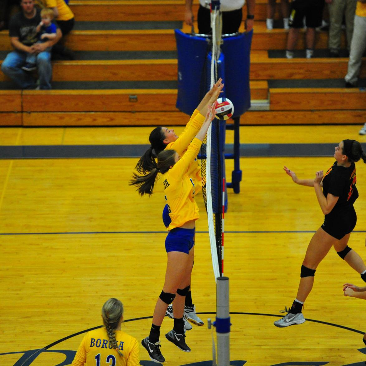 Sectional Volleyball — Incarnate Word at Borgia