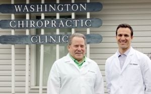 <p>Dr. Kris Feldmann, right, recently joined the office of Dr. Lawrence Gerstein at Washington Chiropractic Clinic, 819 W. Fifth St. Feldmann is a graduate of St. Francis Borgia Regional High School. He earned his undergraduate degrees from the University of Missouri-Columbia and his Doctorate of Chiropractic from Logan College of Chiropractic. He and his wife Jenna reside in Washington.     Missourian Photo.</p><p></p>
