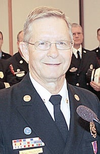 Fire Chief Bill Halmich