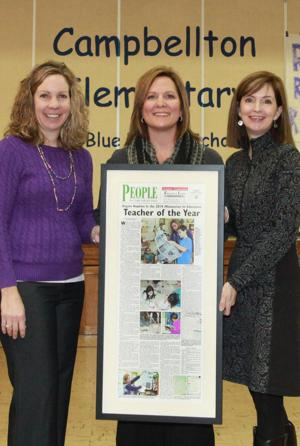 Angie Hopkins Recognized at Campbellton Elementary