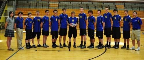 Borgia Boys Volleyball