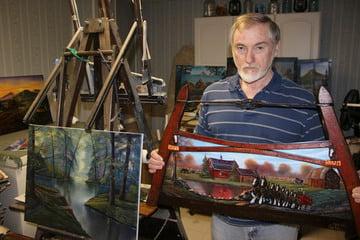Robertsville Artist's Paintings Bring Old Days Back
