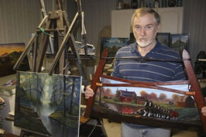 Robertsville Artist's Paintings Bring Old Days Back