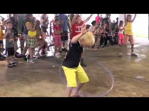 Hula Hoop Contest at Washington Town and Country Fair 2014