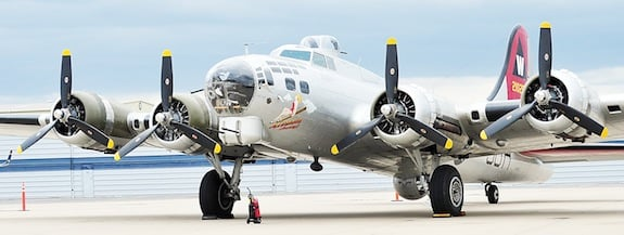 B-17 in Chesterfield