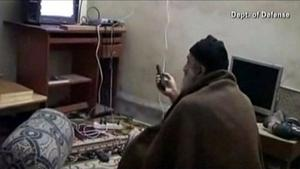 Osama bin Laden at His Pakistan Compound