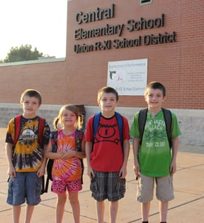 First Day at Central Elementary