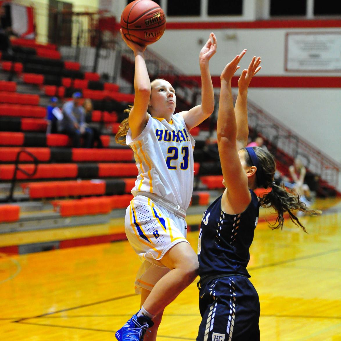 Girls Basketball — Borgia vs. Helias, Union Tournament