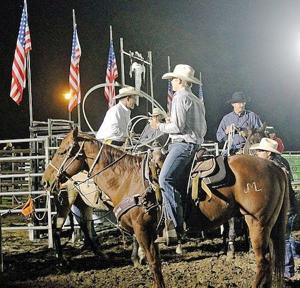 Iron Horse Rodeo Draws Big Crowd Despite Rain