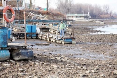 Drought Hurts River