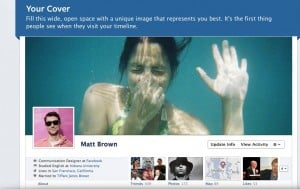 New Facebook Timeline