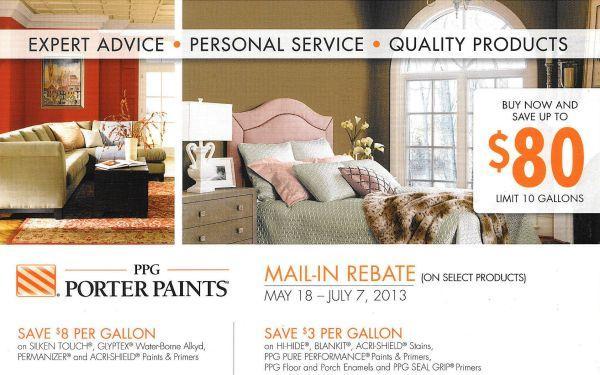 PPG Porter Paint Sale