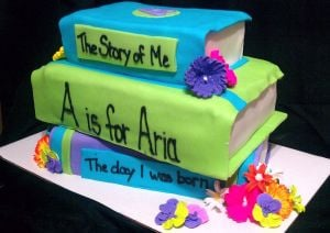 Book Cake Sure to Be A Bestseller