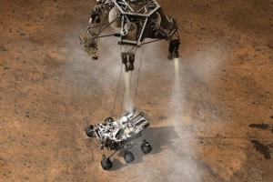 Mars Curiosity Illustration