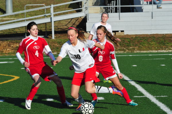 Lady 'Cats Top St. Clair