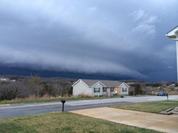Shelf Cloud in Union