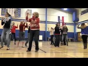 Washington Middle School Teachers Shake it Off 2014