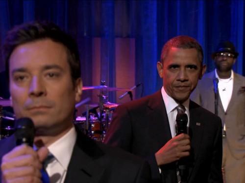 Obama on Fallon Show