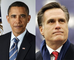 Obama, Romney
