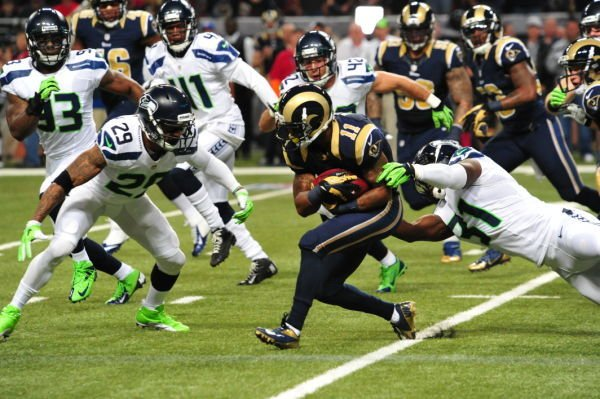 Rams Fall to Seahawks