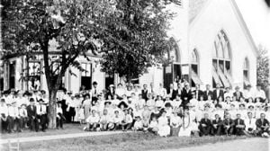St. Paul's in 1913 at 50th Anniversary