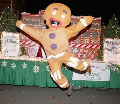 Jumping Gingerbread Man