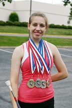 Junior Olympic Twirler