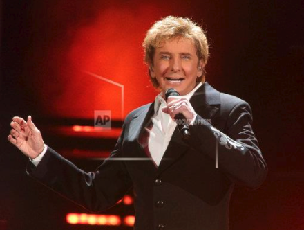 Barry Manilow performs in concert