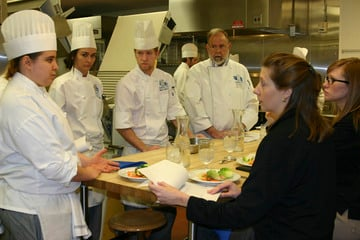 Cooking Up a CollaborationECC Culinary Students Create Original Recipes for Frick's Quality Meats