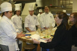Cooking Up a CollaborationECC Culinary Students Create Original Recipes for Fricks Quality Meats 