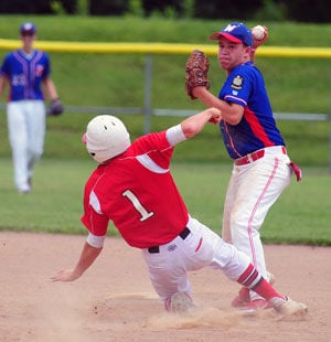 Jackson Tops Post 218 Juniors in State Opener, 8-3