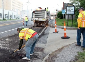 Milling Work on Route 47