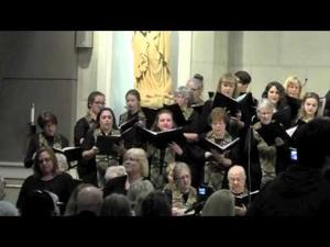 Combined Christian Choir thanksgiving concert 2014