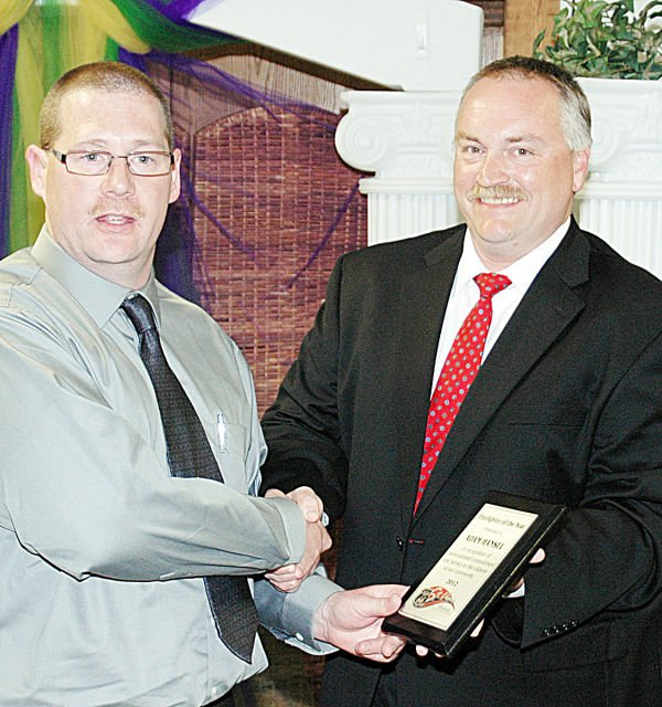 2013 St. Clair Chamber Awards Firefighter of the Year
