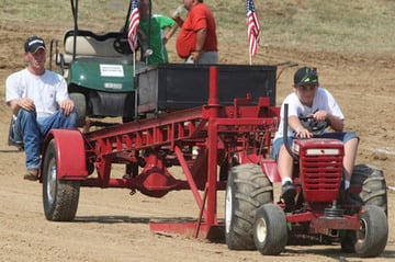 Field Tractor Classes Results at Washington Town and Country Fair
