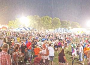 REO Concert Rained out